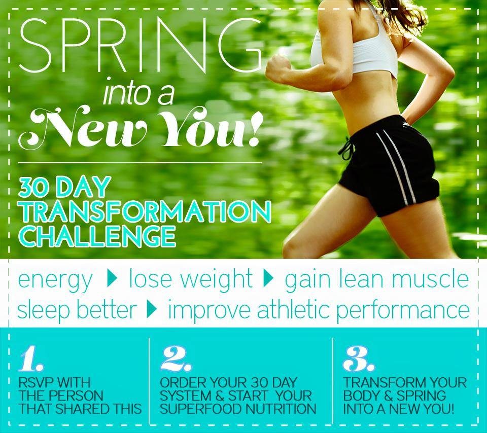 Spring into the new you.